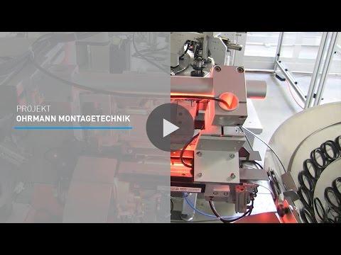 Projektvideo Industriehandel - OHRMANN MONTAGETECHNIK