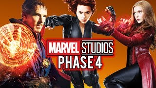 Marvel Cinematic Universe Phase 4 - Movies & Tv Show Releases!