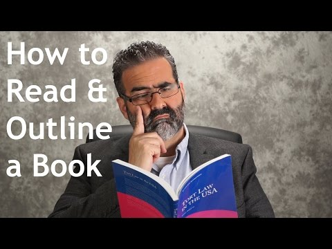 How to Read & Outline a Book