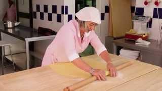 Pasta Grannies make tortellini in Bologna