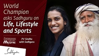 PV Sindhu In Conversation with Sadhguru, must watch..