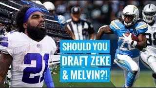Should You Draft Zeke & Melvin Gordon?! | The Lefkoe Show