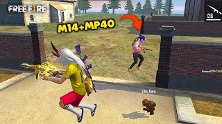Seriously M14+Mp40 Best OverPower Combo Ajjubhai Gameplay - Garena Free Fire