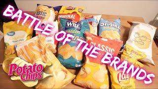 Battle of the Brands | Classic Thin Potato Chips | Blind Taste Test