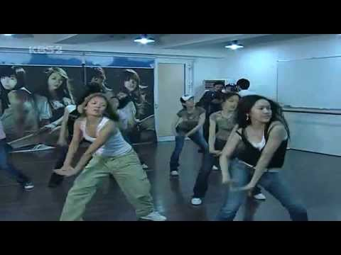 SNSD pre-debut hard dance training