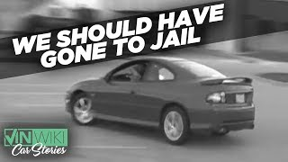 The craziest way to get out of a street racing ticket
