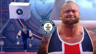 Who is the stronger? Thor vs Žydrūnas - Guinness World Records