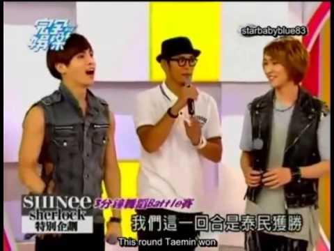 Shinee Funny dance battle~1