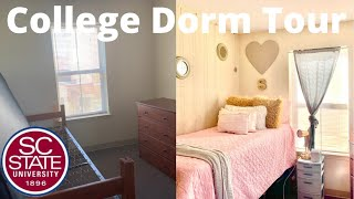 HBCU College Dorm Tour (SC State Hugine Suites)   ShainaCarelle