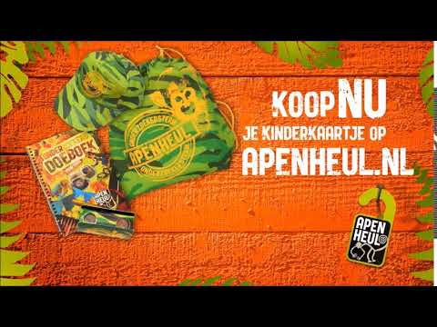 APENHEUL Koop nu je kinderkaartje op apenheul.nl