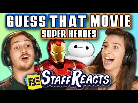 GUESS THAT MOVIE CHALLENGE: SUPERHEROES! (ft FBE Staff)