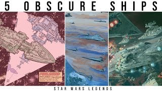 5 Obscure Star Destroyer Types You've (Probably) Never Seen | Star Wars Legends