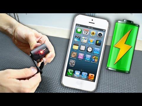 Как сделать портативную зарядку для телефона