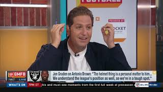 GMFB crew reacts to Antonio Brown's could quit over helmet issue