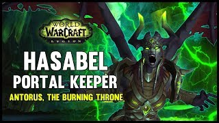 Portal Keeper Hasabel - Antorus, the Burning Throne - 7.3 PTR ...