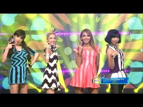 2NE1_0825_SBS Inkigayo_DO YOU LOVE ME