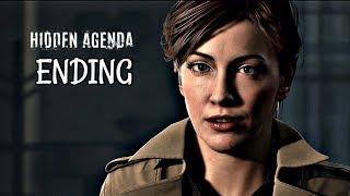 Hidden Agenda Walkthrough Part 4 - Best Ending | PS4 Pro Gameplay