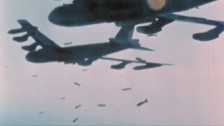 Vietnam War - Vietnam Bombing [Real Footage in Color]