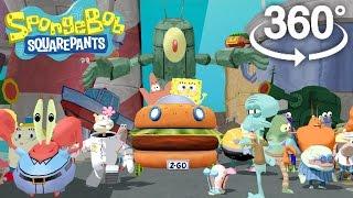 Spongebob Squarepants! - 360° Adventure Video! - (The First 3D VR Game Experience!)