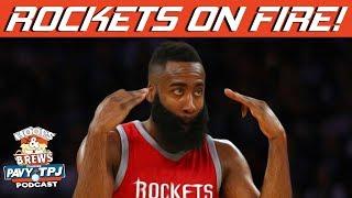 Rockets Continue Pushing | Hoops N Brews