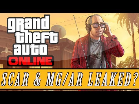 GTA 5: Online | Leaked SCAR & MG/AR Images - Upcoming