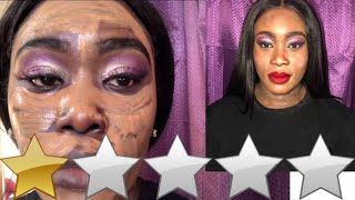 I WENT TO THE WORST REVIEWED MAKEUP ARTIST IN LONDON - SHE CAUGHT ME!
