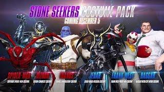 Marvel vs. Capcom: Infinite - Stone Seekers Costume Pack
