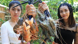 Yummy cooking Shrimp river recipe - Cooking skill