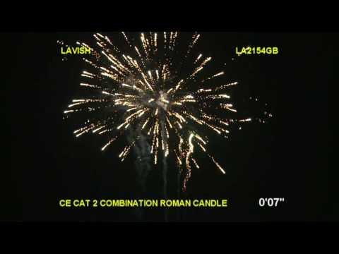 Brothers Pyrotechnics Lavish - 25 shot firework