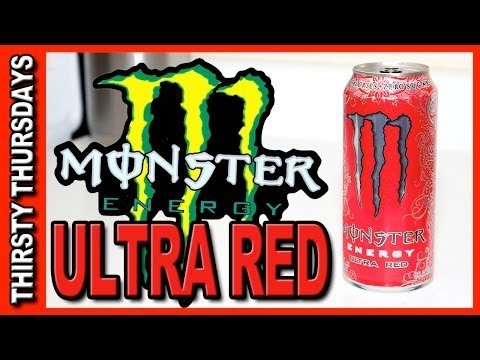 Monster ★ Ultra Red Energy Drink Review