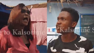 KALSOUME VISITS SHOWBOY'S HOUSE 😂😂😂 (Kalsoume Sinare TV Funny Movie Clip) - YouTube
