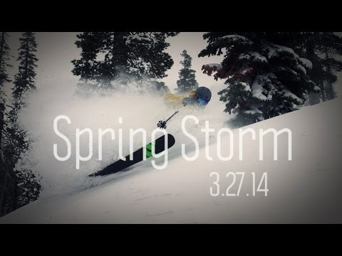 Spring Storm - 3.27.14 | Squaw Valley and Alpine Meadows