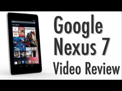Google Nexus 7  Video Review