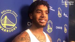 Warriors Marquese Chriss on Draymond Green's injury scare