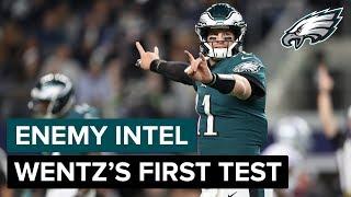 Eagles Enemy Intel: Carson Wentz's First Test | Eagles Game Plan