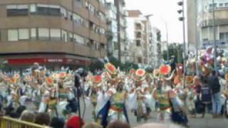 Los Desertores en el desfile de 2010