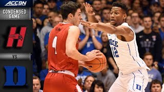 Hartford vs. Duke Condensed Game | 2018-19 ACC Basketball