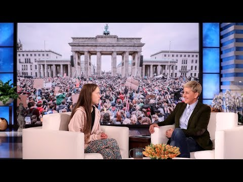Greta Thunberg on Ellen