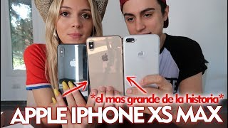 UNBOXING Apple iPhone XS MAX *el iPhone más GRANDE de la historia*