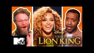 🔴The Lion King Cast Play How Well Do They Know Each Other