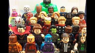 Lego Marvel Cinematic Universe (Updated 2019)