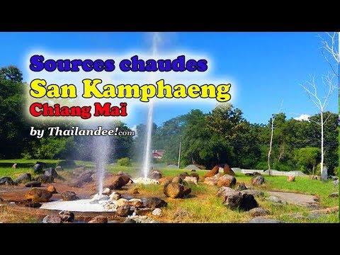 les sources chaudes de san kamphaeng (chiang mai)