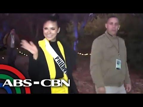 Gazini Ganados, humahataw sa pre-pageant activities ng Miss Universe 2019 | UKG