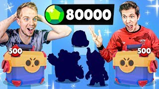 1000x MEGA BOX OPENING BATTLE! $4000 MAXING ACCOUNTS in BRAWL STARS!