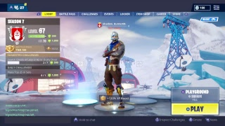 Playing fortnite playgrount trolling