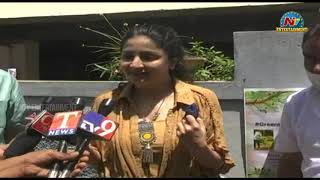 Poonam Kaur speaks after accepting Green India challenge..