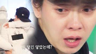 《FUNNY》 Running Man 런닝맨|송지효, 담력테스트 도중 눈물 펑펑 EP417 20160207