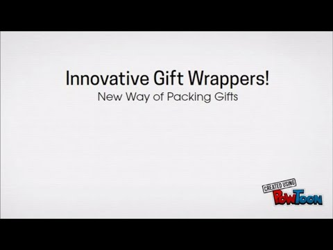 Innovative Gift Wrappers - Packingsupply.in