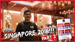 EXPLORING SINGAPORE!  (CHINATOWN + ORCHARD ROAD)
