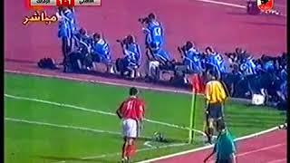 الاهلي والزمالك 2-1 الدوري المصري موسم 98-99-هدفا التوأم     -
